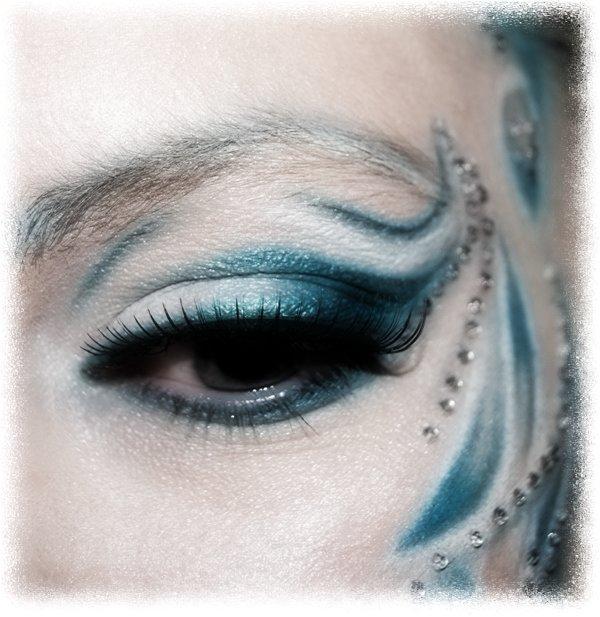 Макияж снегурочки фото пошагово - Дневной макияж глаз пошагово (фото) как сделать