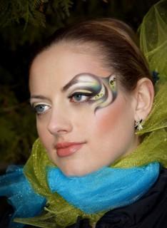 Подиумный макияж Alex