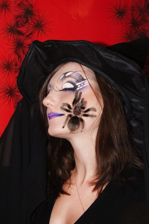 Макияж для ведьмы на хэллоуин своими руками