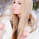 Макияж для портфолио Зима 2013
