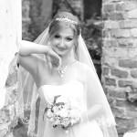 Свадебный макияж и прическа для Марты