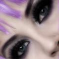 Вечерний макияж Лиловая вечеринка