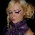 Подиумный макияж стилизованный