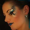 Новогодний фантазийный макияж Фея