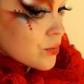 Образный макияж Devil