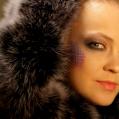 Фантазийный макияж для портфолио