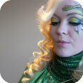 Фантазийный Новогодний макияж Год Дракона
