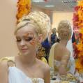 Греческая богиня образ, фантазийный макияж и причёска Lampadion