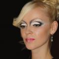 Креативный макияж Black & White