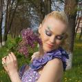 Фантазийный макияж к ВЫПУСКНОМУ БАЛУ
