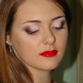 Вечерний макияж Юлия