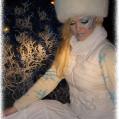 Новогодний макияж Снегурочка