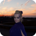 Фантазийный макияж Lilac evening