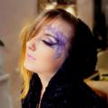 Художественный макияж цветок Фиалка (Violet)