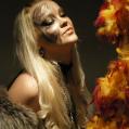Новогодний Тигровый макияж - Год тигра 2010