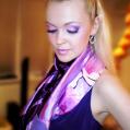 Вечерний макияж Pink and lilac