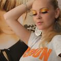 Вечерний клубный макияж FASHION