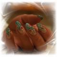 Гелевое наращивание ногтей Flower